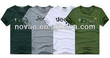 O-neck Jeep Printed Short Sleeve Summer Men's t-shirt