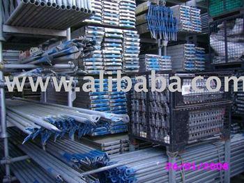 PERI UP scaffolding - used scaffold - 45000 sqm