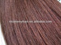 100% extensão do cabelo humano brasileiro reta kinky cabelo de trama