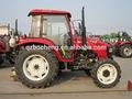Moderne macchine agricole prezzi trattori cinesi 75hp 2wd/4wd trattore agricolo