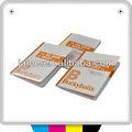 Flip book avec plein d'impression couleur