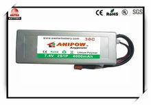 Li-polymer rechargeable battery V6 Super Power Series 25C