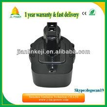 Panasonic cell 12v Cordless Drill Battery for Dewalt DE9037