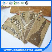 Eiffel Tower metal bookmarks