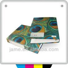 2013Hot venta de fascinante financiera informe de impresión de carpetas