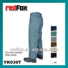 YK039T Trim Fit Low Rise Work Pants