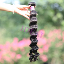 AAAAAA grade no chemical full cuticle black hair care products wholesale