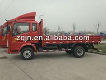 4x2 caminhões de 3,5 toneladas/7 ton caminhão howo 5 toneladas caminhão