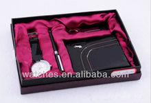 Watch Gift Set Include Watch+Pen+Key Chain+Purse GFAA8024