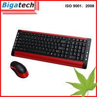 Latest 2.4G RF Wireless USB mouse and keyboard Combo