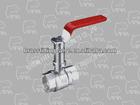 823-04 brass ball valve with lock(water meter) (THREAD ENDS HIGH NECK FULL PORT BALL VALVE)(C37700)