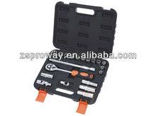 "20 pcs 1/2"" car repair use socket set, hex wrenches, bit sockets"