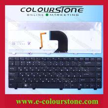 Brand New Laptop Keyboard For Dell V3300 Keyboard RU Black Backlit NSK-DJ301