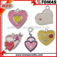 Fashion Hot selling Custom Heart Cross pendant