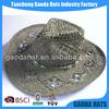 Manufacturer Direct Sale Hollow Out Adult Cowboy Hats Summer Hats