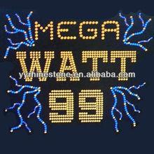 Texan MEGA WATT rhinestone wholesale motif designs