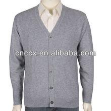13STC5457 mens v-neck cardigan sweater