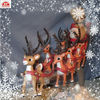 Christmas ornament customized small plastic toy deer (ICTI)
