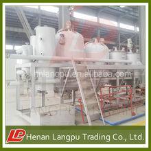 small scale 1ton 2 ton 3 ton 5 ton per day crude oil refinery compact design for small factory