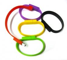 personality design wristband usb pen drives bulk sale
