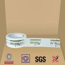 China Water proof carton sealing bopp adhesive printed tape