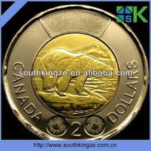 POLAR BEAR with Brand New Design 2012 Canada Two Dollar Twoonie Coin
