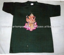 hand painted t-shirts indian gods