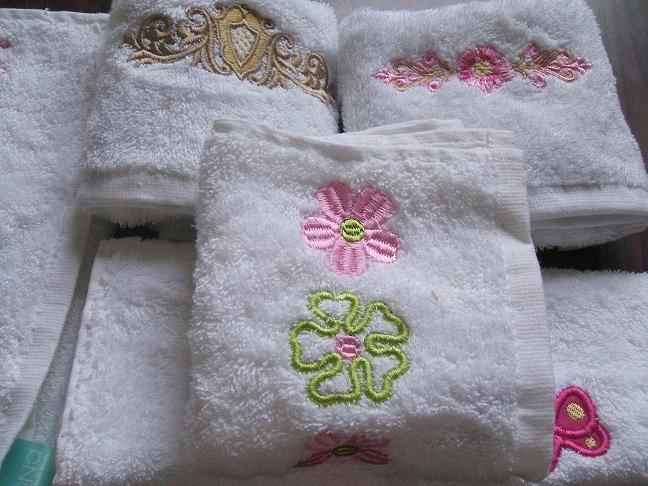 Diseños bordados para toallas - Imagui