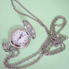 2013 Weiying watch factory new design Japanese quartz movt brass silver pocket watch