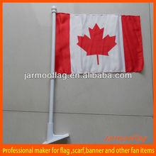 Canada hanging car flag