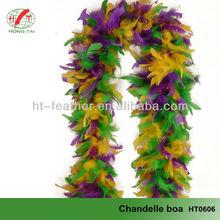cheap colorful turkey feather boa