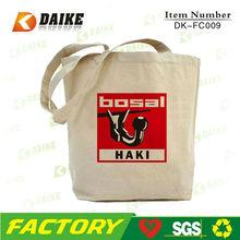 Reusable Shopper Cotton Canvas Diaper Bag DK-FC009
