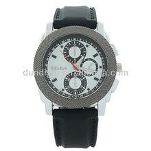 Fashion Style Men's Wristwatch Dress Styles Silicone Quartz Sports Silicone Watches Three Circles Guangzhou Factory