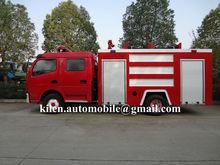 DFAC double cabin LHD/RHD 4x2 water tanker small fire truck