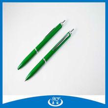 Click Eco-Friendly Cheap Logo Metal Ball Pens School Pens
