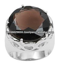 925 Sterling Silver Rings Smoky Quartz, 925 Sterling Silver Rings for Men, 925 Sterling Silver Jewelry 2014