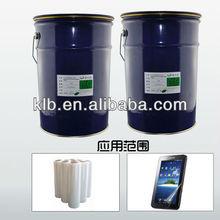 optical transparent silicon adhesive for films liquid silicone adhesive glue tag
