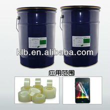 optical transparent silicon adhesive for films liquid silicone spray adhesive glue