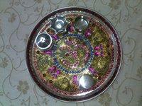 pooja thali craft