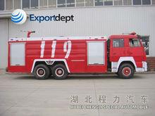 6*4 HOWO Fire truck fire truck specifications,10,000-20,000 water tank