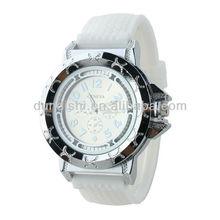 Fashion Geneva Silicone Stronger Men/Women Sports Big Quartz Wrist Watch