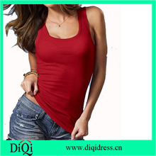 sexy red slim-cut tank tops tube tops camisole top for women 2014 crazy girl club tee