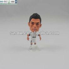 3d custom action figure;custom football player action figure toys manufacture; custom pvc football star action figures