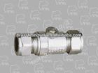 824-07 brass y strainer filter valve (STANDARD PORT WASHING MACHINE STRAIGHT BALL VALVE)(C37700)