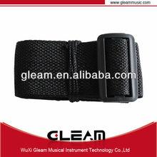 Comfort Wide Nylon Black Guitar Strap