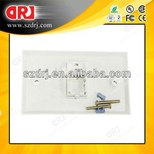 86*120 type faceplate with shutter