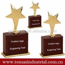 Trophy supplies Wholesale star trophy