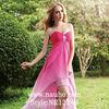 NE13249 2013 Fashion Pink Front short and Long Back Evening Dress