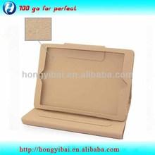 Guangzhou manufature leather book case for ipad mini