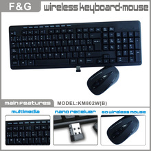 2.4G wireless flexible keyboard and mouse
